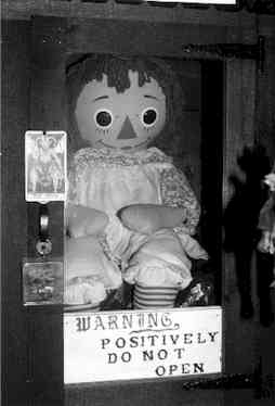 "Ed & Lorraine Warren,  The Doll ""Annabelle"""