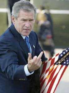 bush-finger