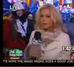 Fox News Ticker on New Years Eve