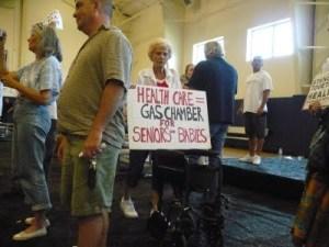 Image: Bitching Blog Bites | Photo taken at Congresswoman's Susan Davis' (D-San Diego) Town Hall